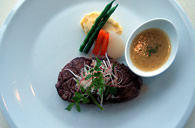 Grilled Beef Tenderloin Steak - served with nuoc mam and ginger sauce