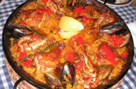 Meat and Fish Paella