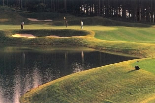 Photo from Haruna no Mori Country Club, Jack Nicklaus designed golf course in Gunma, Japan