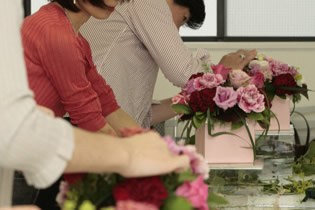 Photo from Nicolai Bergmann International School of Floristry, Bilingual Flower School in Tokyo