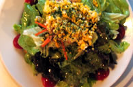 Talk Back's Famous Gochamaze Mixed Green Salad – 800 Yen