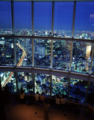 Spectacular Views of Tokyo